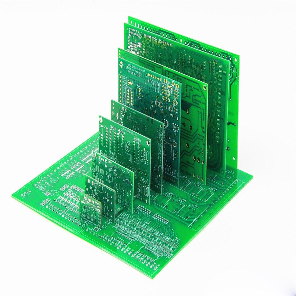 Protoboard PCB Board FR4 fabricación PCB prototipo fabricación 94v0 PCB fabricación circuito impreso placa printplat DIY Kit Jyrkior soporte de fijación de PCB placa base Plataforma de mantenimiento de soldadura para iPhone 5/5S/6/6 P/7/7 P/8/XR Reparación de soldadura