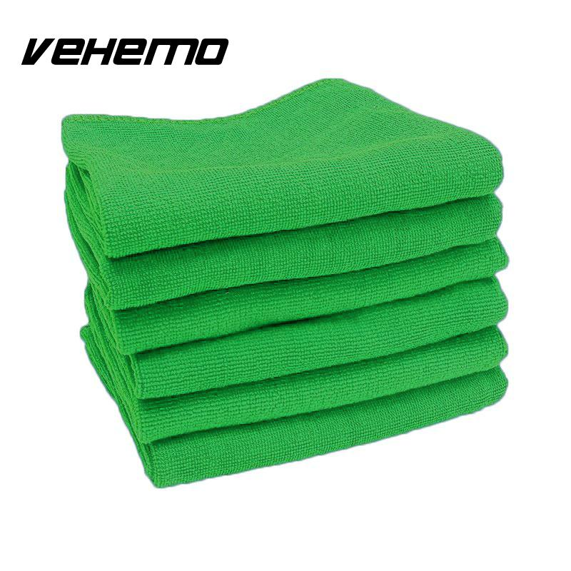 VEHEMO 5 Pcs/lot Soft Superfine Fiber Cleaning Towel Home Truck Car Bicycle Clean Detailing Polishing Cloth Car-Stying