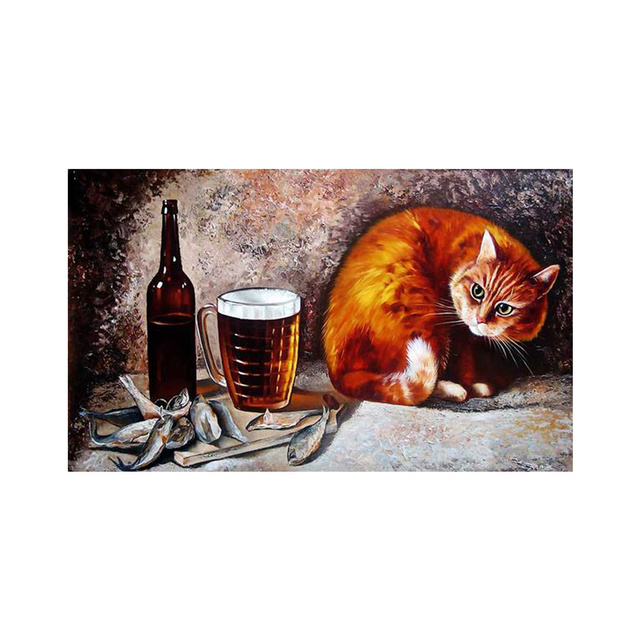 gourmet cat diamond painting christmas diamond embroidery christmas decorations for home 5d diy diamond painting decor - Cat Christmas Decorations