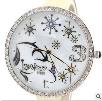 wholesale fashion watch/brand watch/wirst watch LuscigusGirls 9148 watch