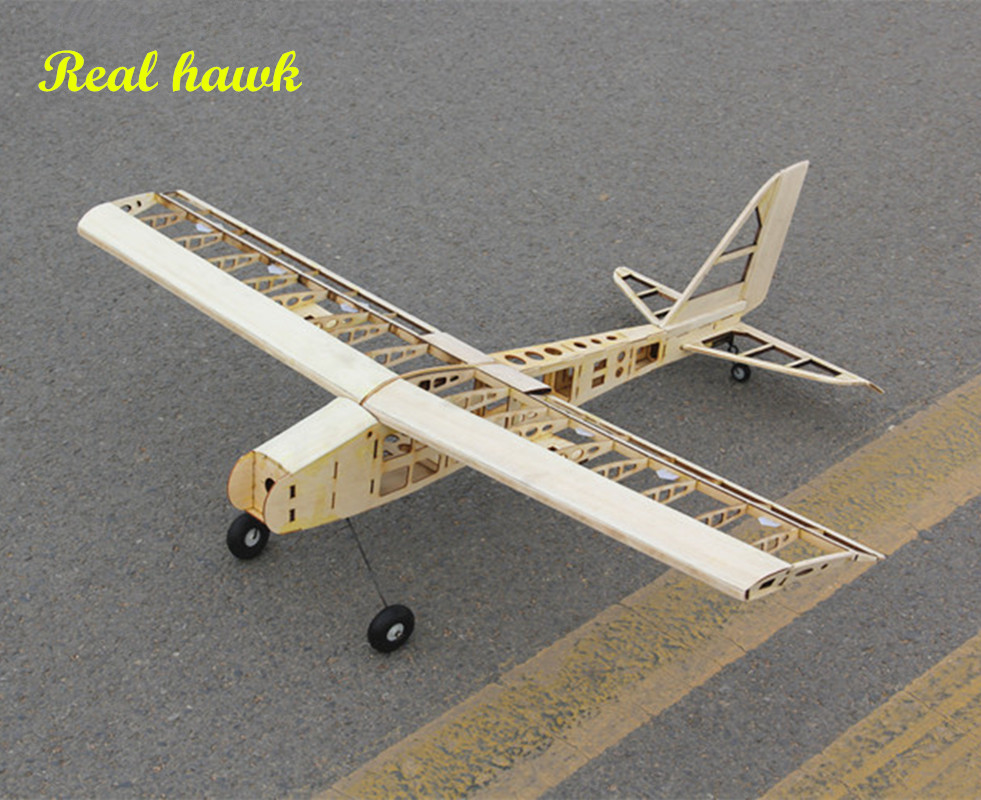 RC Plane Laser Cut Balsa Wood Airplane Kit New 2.5-4.5cc nitro trainer Frame without Cover Free Shipping Model Building Kit цена
