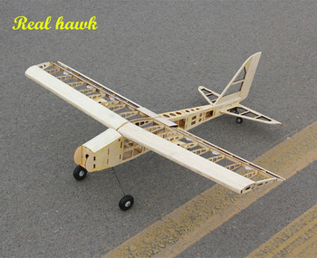 RC Plane Laser Cut Balsa Wood Airplane  Kit New  2.5-4.5cc nitro trainer Frame without Cover Free Shipping Model Building Kit model aircraft