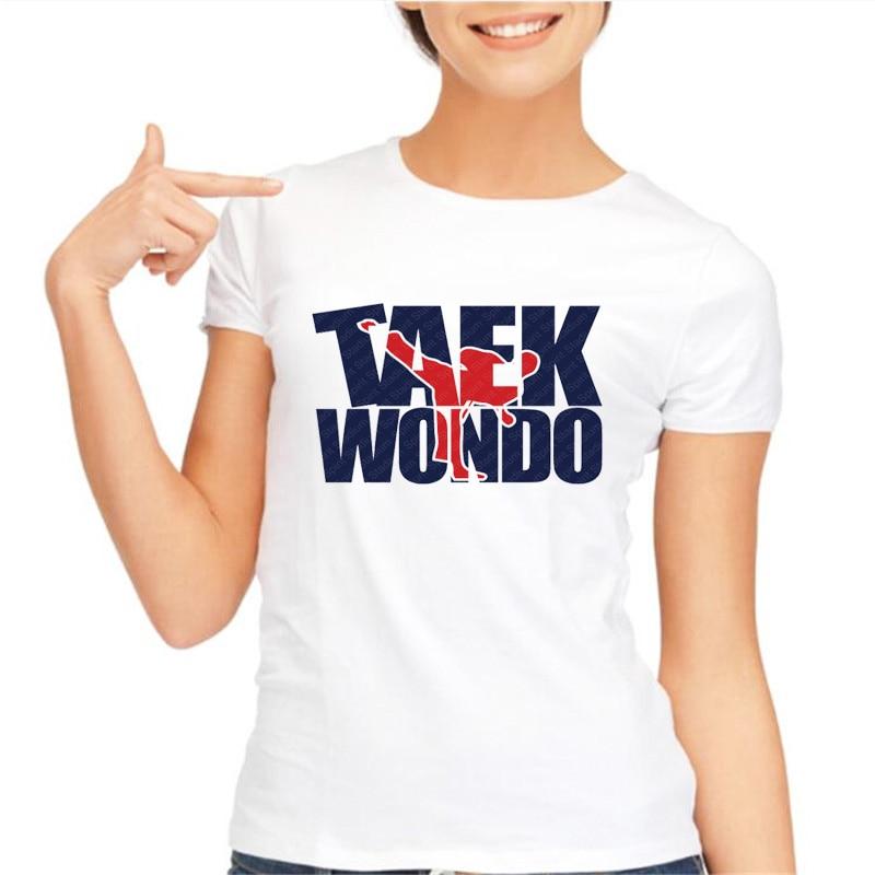 920c328b40569a summer tops modal Taekwondo Woman t shirt Hot Sale Asian Size Girl t shirt  high quality women tops