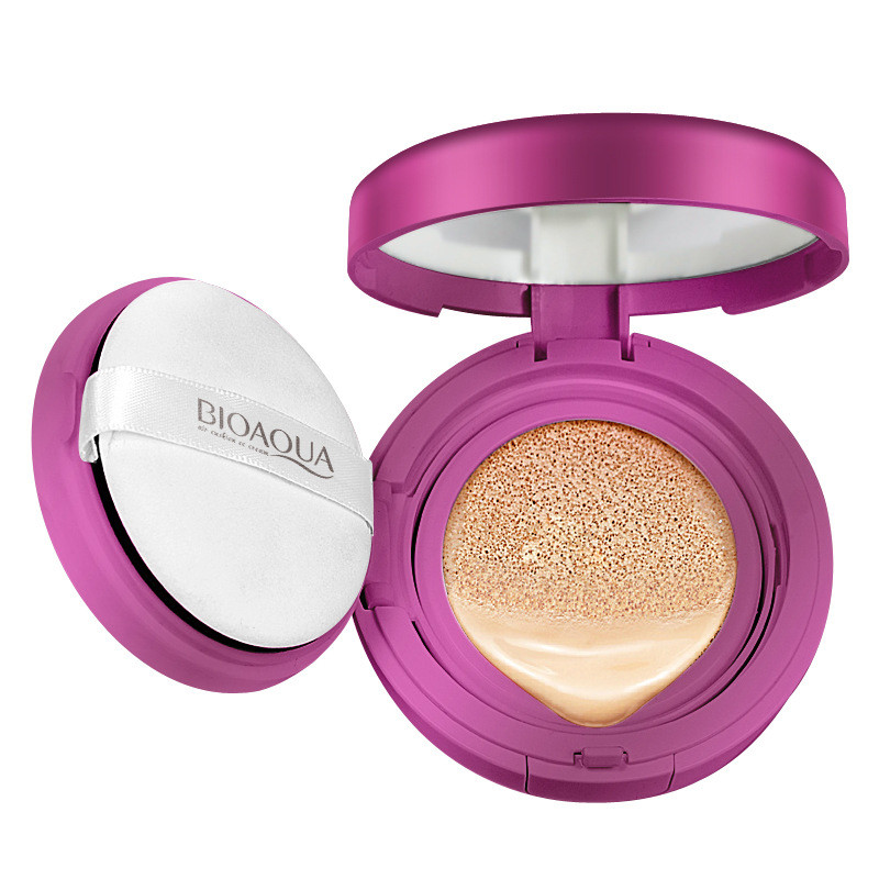 BIOAQUA Air Cushion BB Cream Concealer Moisturizing Foundation Makeup Whitening Brighten Face Beauty Cosmetic