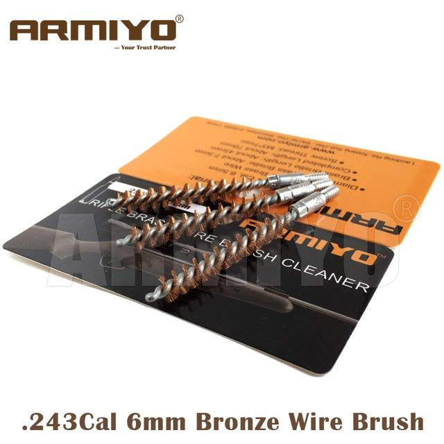 Armiyo. 243Cal 6mm Jagdgewehr Bronze Draht Reinigungspistole Barrel ...