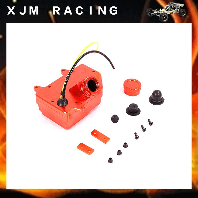 RC CAR CNC metal Fuel Tank Assembly fit HPI KM ROVAN Baja 5B 5SC 5T Free shipping flywheel magneto fits 23cc 26cc 29cc 30 5cc cy fuelie engine for 1 5 hpi baja 5b 5t sc km rovan rc car toy parts