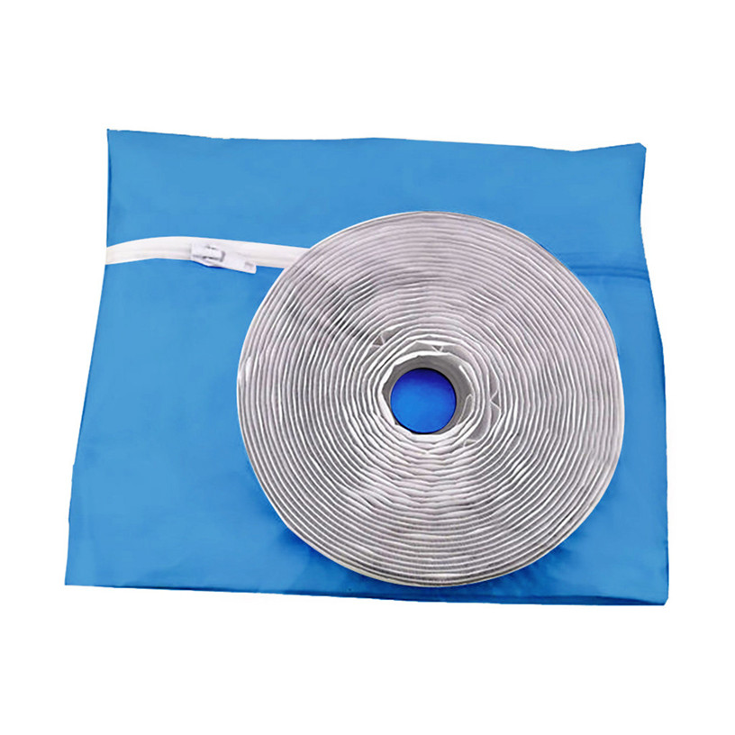 Air Lock Window Seal Cloth Waterproof Home Mobile Air Conditioners Soft Cloth Sealing Baffle Water-Repellent Dryer 4m 0711#