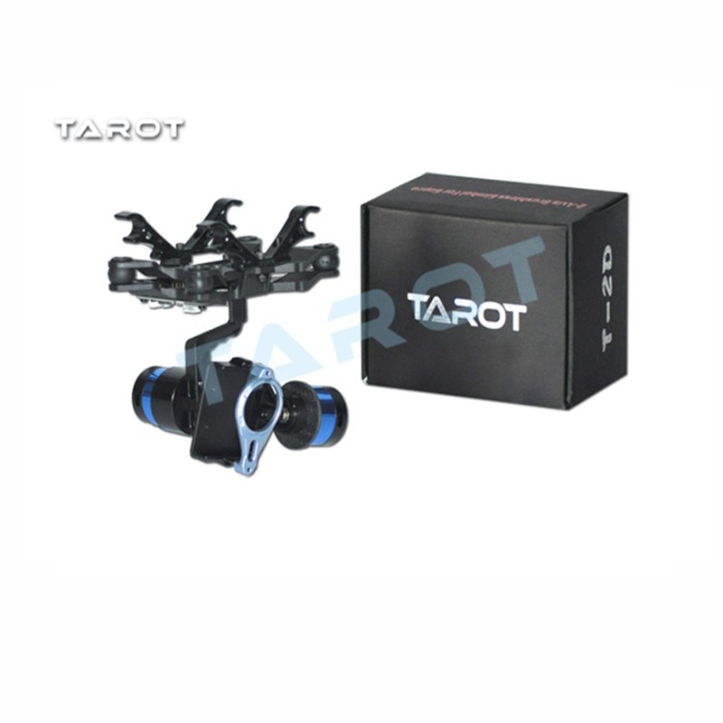 Tarot-RC Gopro Hero 2-axis Brushless Gimbal Hook Bracket Mount Holder with Gyro TL68A00 Two Axis for FPV Camera Brushless Gimba 2 axis brushless gimbal camera mount gyro zyx22 for gopro 3 aerial photography multicopter fpv tarot