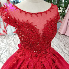 AIJINGYU Wedding Cap Frocks Two In One 2019 Vintage Gown