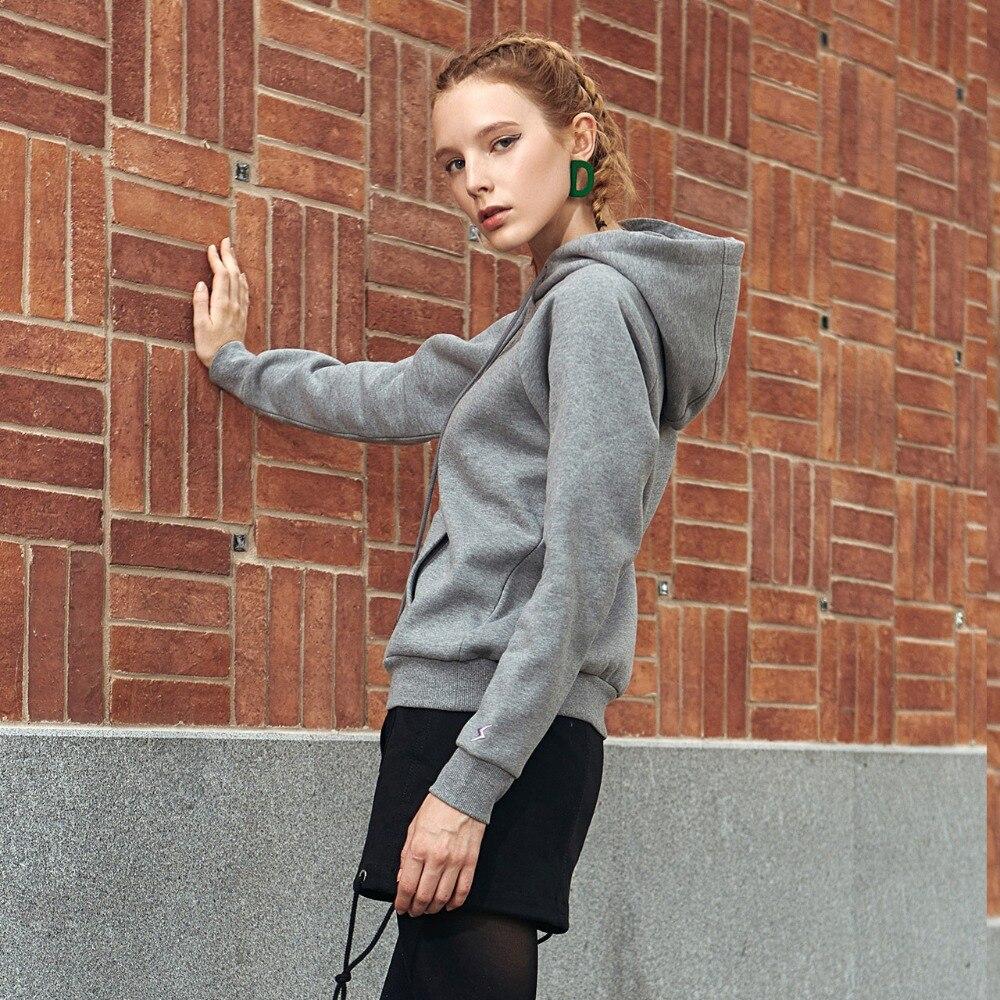 Nouveau 2019 automne hiver décontracté vestes à capuche femmes à capuche sport sweatshirts