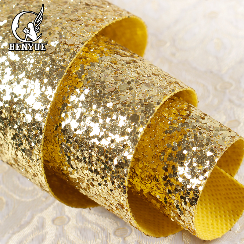 High quality Chunky glitter 3d wallpaper Christmas crafts non woven fabric Wallpaper Rolls For Walls flash