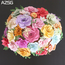 AZSG Beautiful Bouquet Metal Cutting Dies for DIY Scrapbooking Photo Album Decoretive Paper Card Embossing Stencial