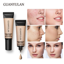 GUANYULAN Forean Face Makeup 3color Liquid Concealer Convenient Pro eye concealer cream Corrector Everythi