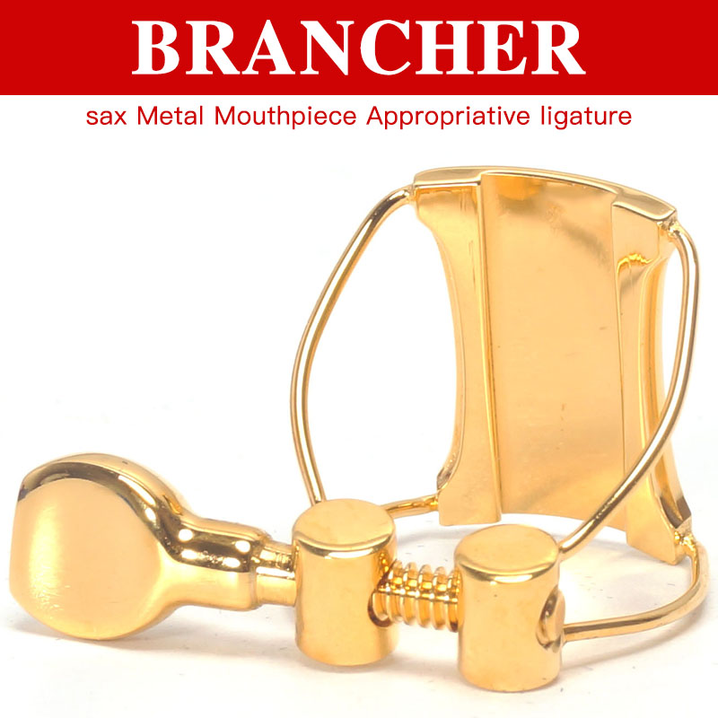 Brancher sax Metal Mouthpiece Appropriative ligature Hat soprano alto tenor