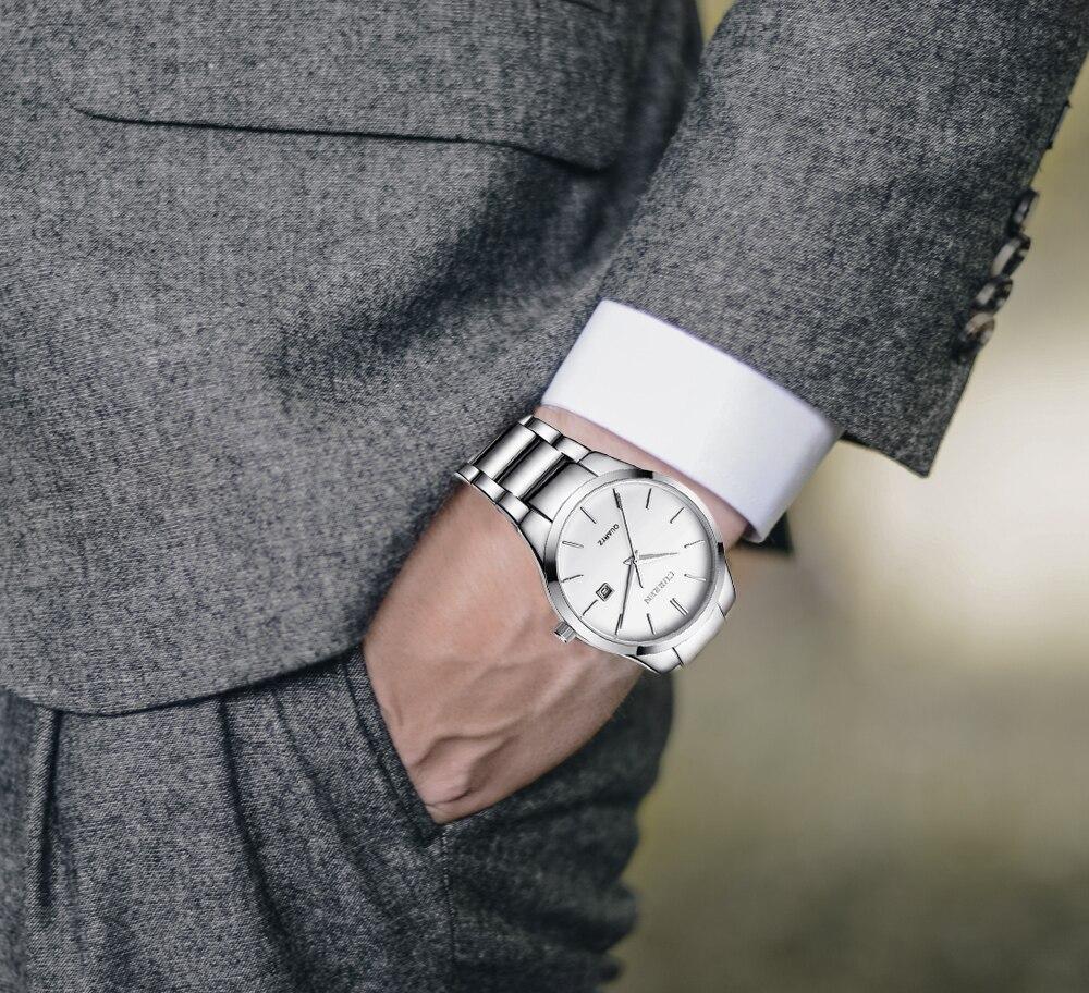 relogio masculino CURREN Luxury Brand  Analog sports Wristwatch  Display Date Men's Quartz Watch Business Watch Men Watch 8106