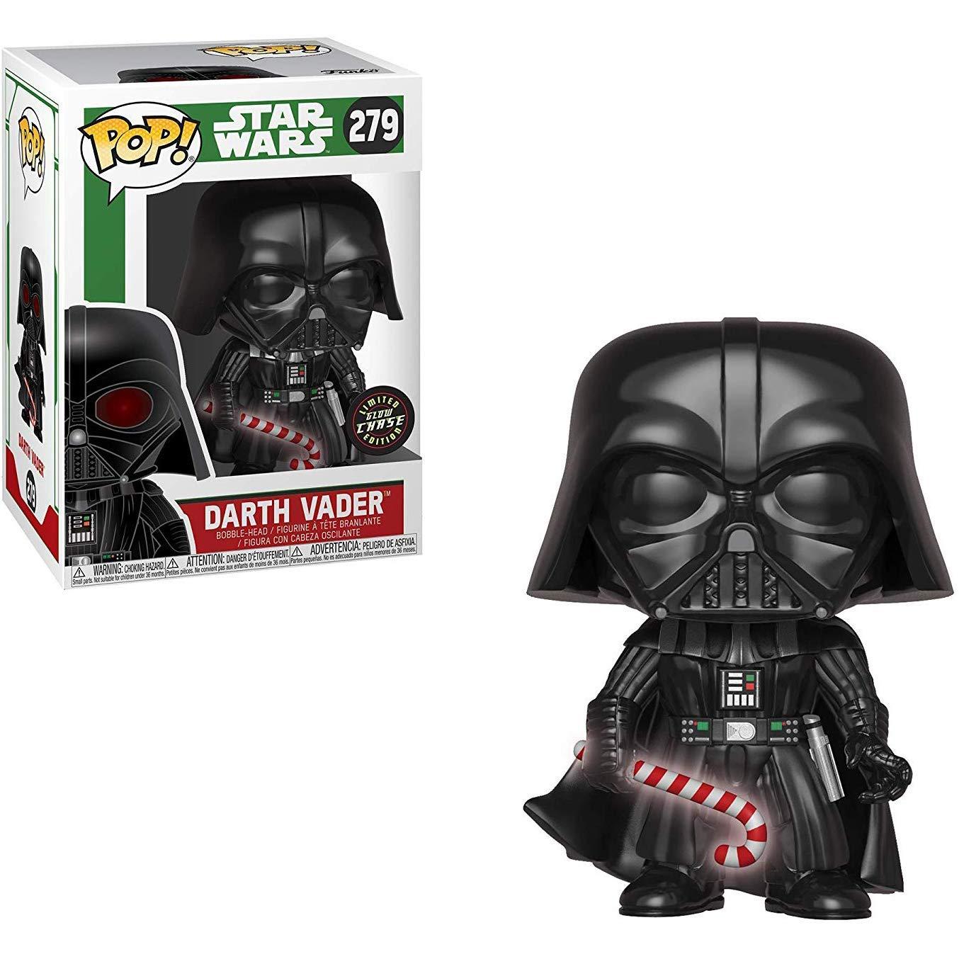 Chase Édition Funko pop Officielles Star Wars: vacances-Darth Vader Vinyle Action Figure Collection Modèle Jouet avec la Boîte Originale