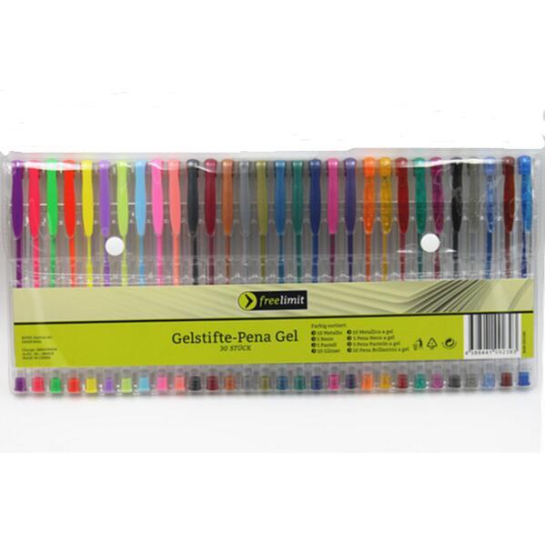 Smart 30 Gel Pens set, Color gel pens Glitter Metallic pens Good gift For Coloring, Kids, Sketching, Painting, Drawing наборы кухонных принадлежностей elan gallery набор лопатка кисточка