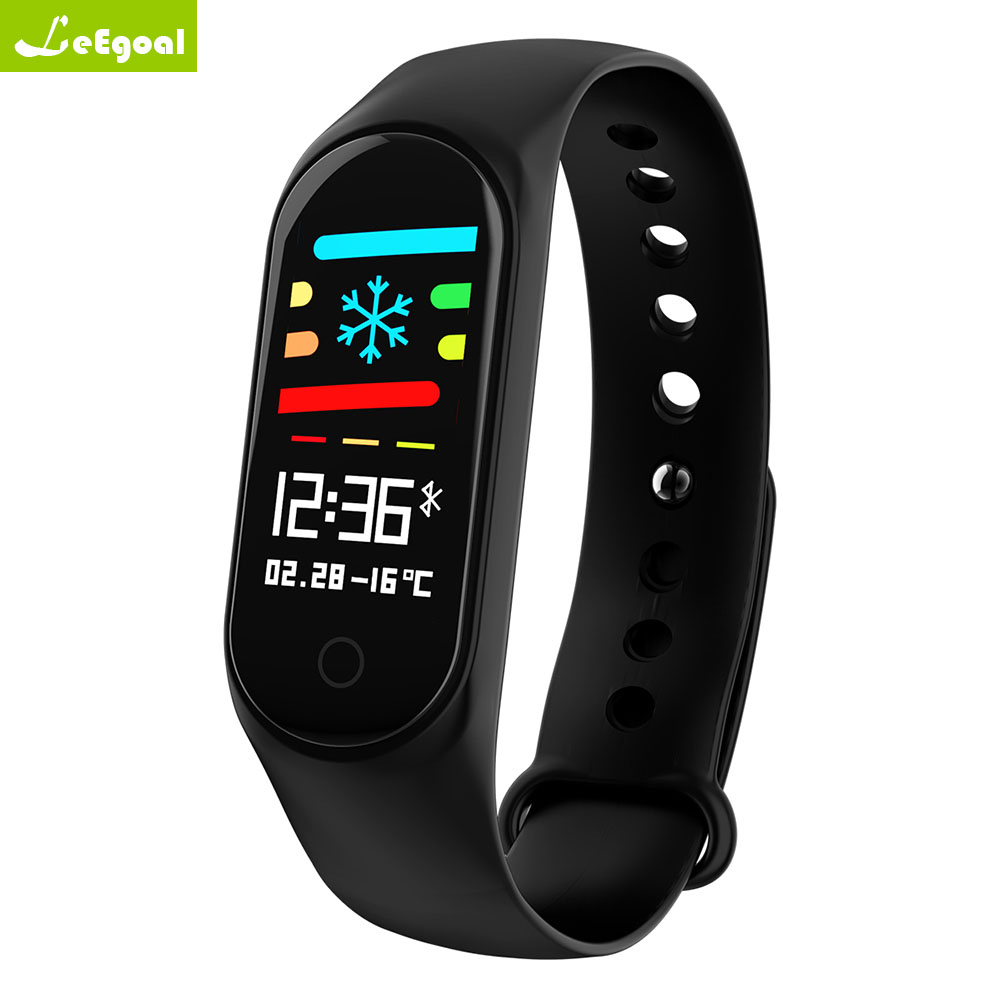 M3S Bluetooth Smart Wristbands NFC Heart Rate & Blood Pressure Monitoring Band With OLED Touch Screen Fitness Tracker Bracelet