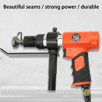 Air pipe joint sewing machine Edge banding machine iron seam gun air hammer HS 250