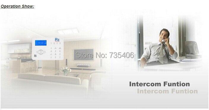DIY KIT Drahtlose Alarm Dual netzwerk PSTN Und GSM Alarm System Smart Sicherheit Home Alarm System mit 32 drahtlose zone - 5