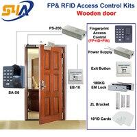 X6 Fingerprint RFID Access Control Kits