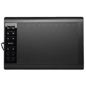 Image 1 - Bosto T8 10x6in 그래픽 태블릿 에 Draw Art 정 대 한 된 로고와 와 된 로고와 Glove 및 배터리 free 펜 된 로고와 대 한 태블릿