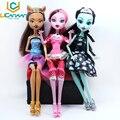 Nenhuma caixa ucanaan bonecas draculaura/clawdeen wolf/frankie stein moveable joint corpo meninas alta qualidade plástico classic toys presentes