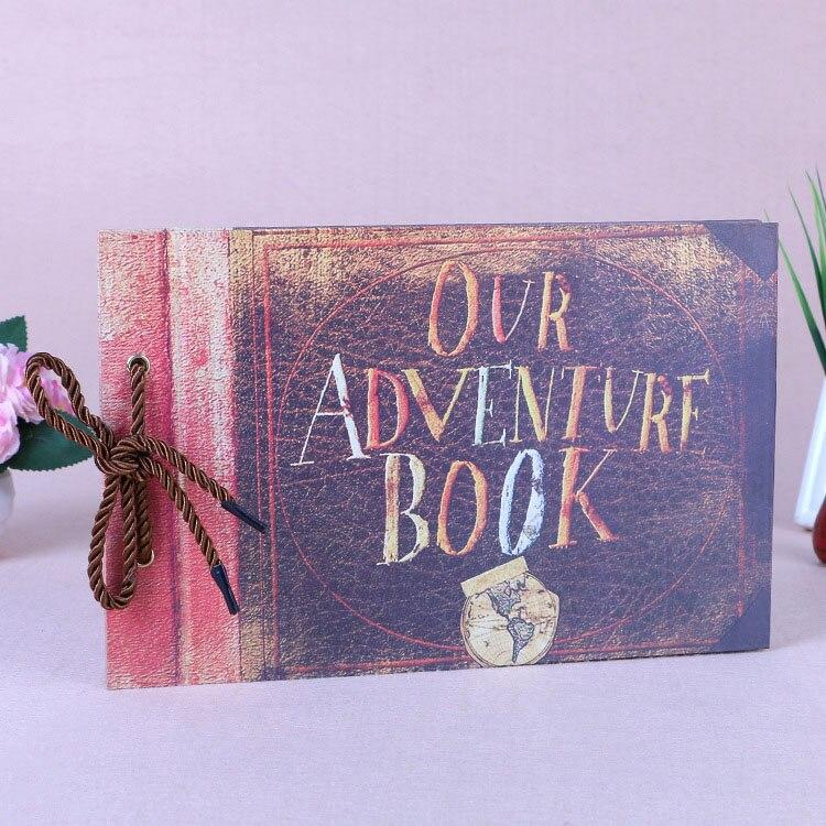 Наше приключение книги, Pixar UP фильм записки, свадебный фотоальбом, Юбилей подарки ...
