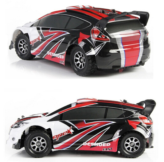 ФОТО WL Wltoys A949 Racing RC Car RTR 4WD 2.4GHz Drift Toys Remote Control Car 1:18 High Speed 50km/h Electronic Car VS L939
