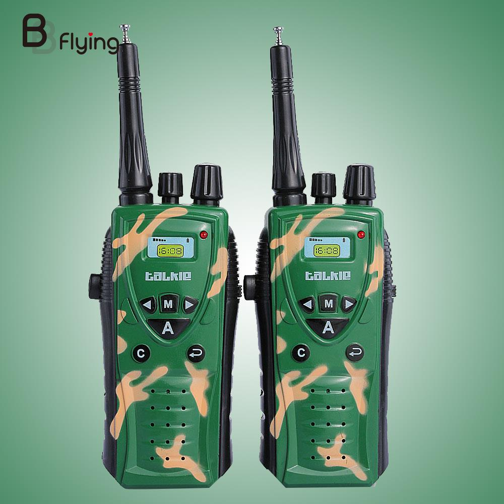 Drop shipping Children Military Camouflage Walkie Talkie Plastic Toys Childrens Day