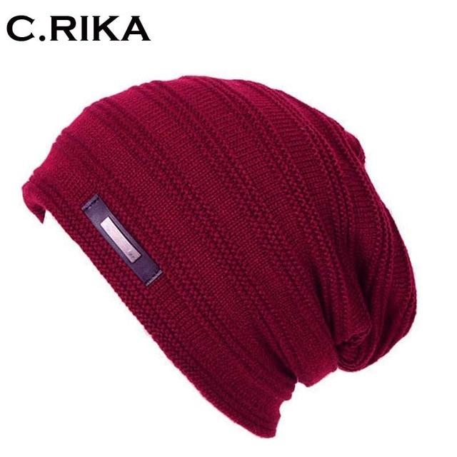 2018 gorro de Inverno cap menino chapéu de lã skullies gorros chapéus de  malha para homens 3146ed562b3