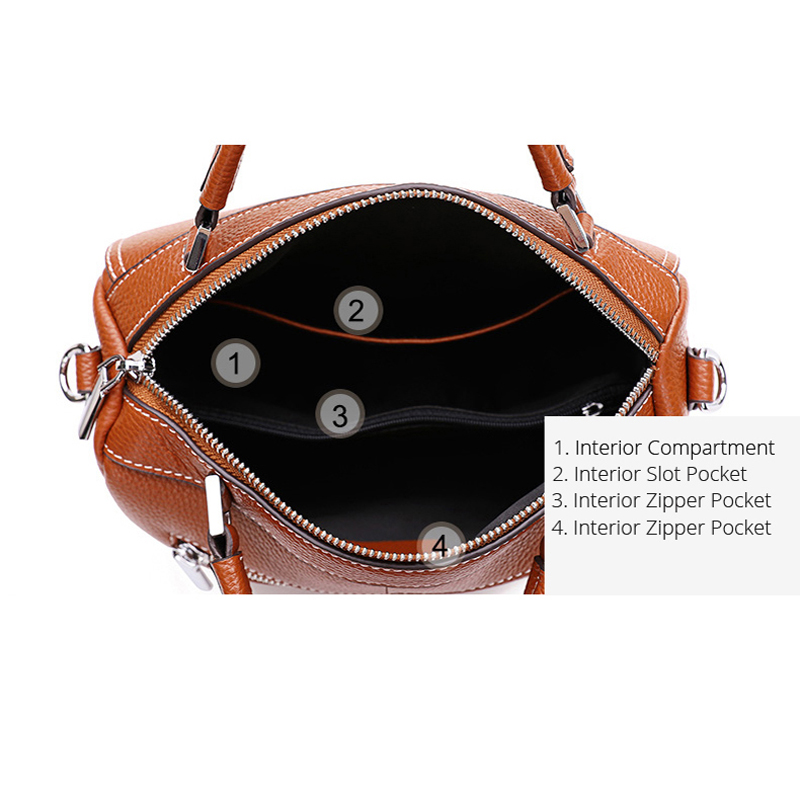 Pomelos 럭셔리 핸드백 여성 가방 디자이너 여성을위한 새로운 도착 정품 가죽 가방 여성 숄더 가방 지갑과 핸드백-에서숄더 백부터 수화물 & 가방 의  그룹 3