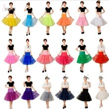 Retro Underskirt Woman Wedding Bridal Petticoat Crinoline Short Tulle Skirt Rockabilly Tutu Accessories Jupon Mariage
