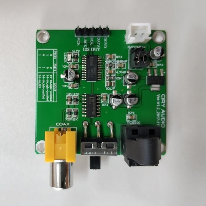 DIR9001 to CS8412 //14 digital receive Converter board module replacement