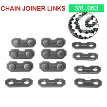 Durable 6Pcs Stainless Steel Chainsaw Chain Joiner Link Chain Joint For Joinning 3/8 .063 Chains for Chainsaw Parts