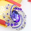 Popular Pins Multicolour Brooches Fashion Jewelry Wedding Crystal Ornament Jewelry For Women Girl Jewelry Design Birthday Gift