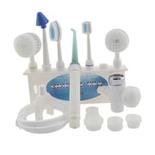цена Tooth Clean Device Household Pulse Punch Machine Tooth-Wash Washing Kit Water Dental Floss Oral Care Tools Tap Dental Cleaner в интернет-магазинах