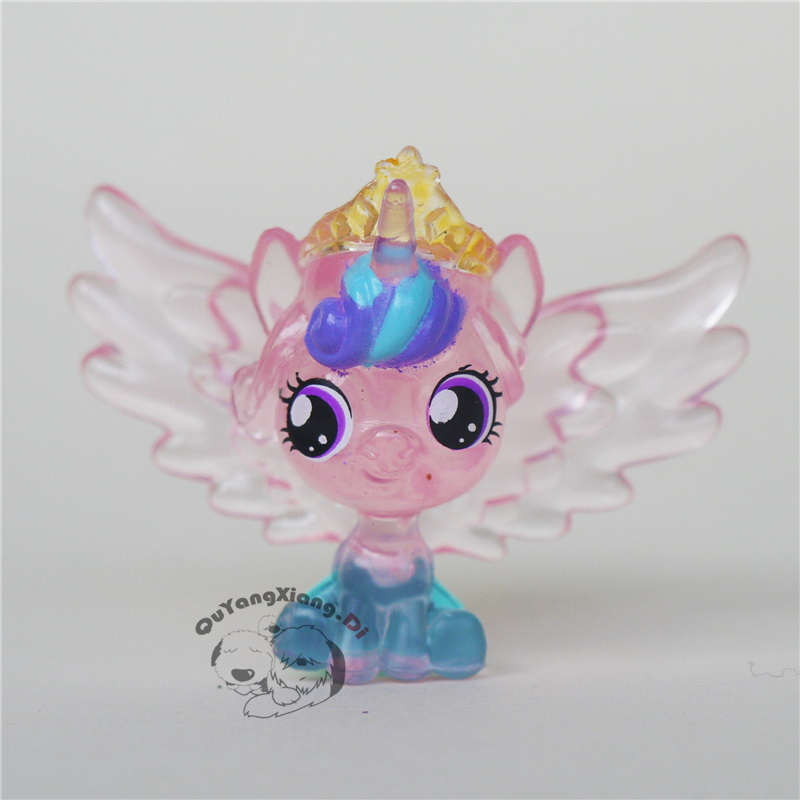 Action Figures 5cm Little Cute Horse Model Doll Anime Toys Princess Cadance daughter flurry heart Toys for Children(China)