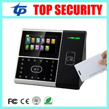 TCP/IP Face time attendance and access control with RFID card reader double night version camera with free software iface301