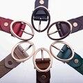 De alta Calidad de Cuero Genuino Del Zurriago Mujeres de La Manera Decorativa Cintura Mujeres Cinturón Ancho de Lujo Diseñador de Las Mujeres de La Correa