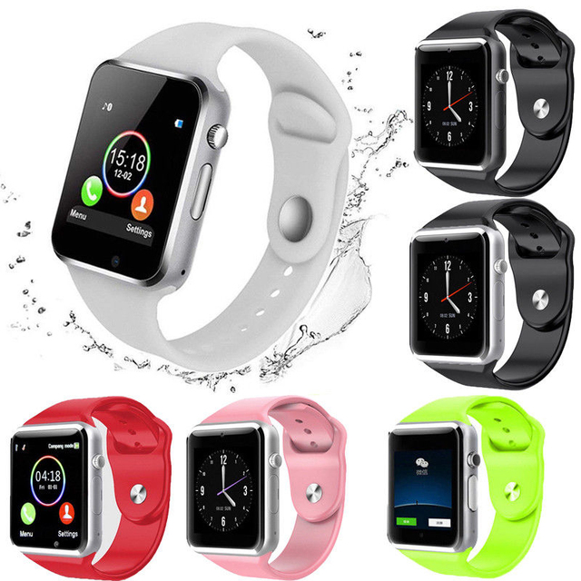 A1 Smart Watch Bluetooth SIM CARD GSM Phone Fitness Tracker For Android Samsung iPhone Universal Phone Man Women