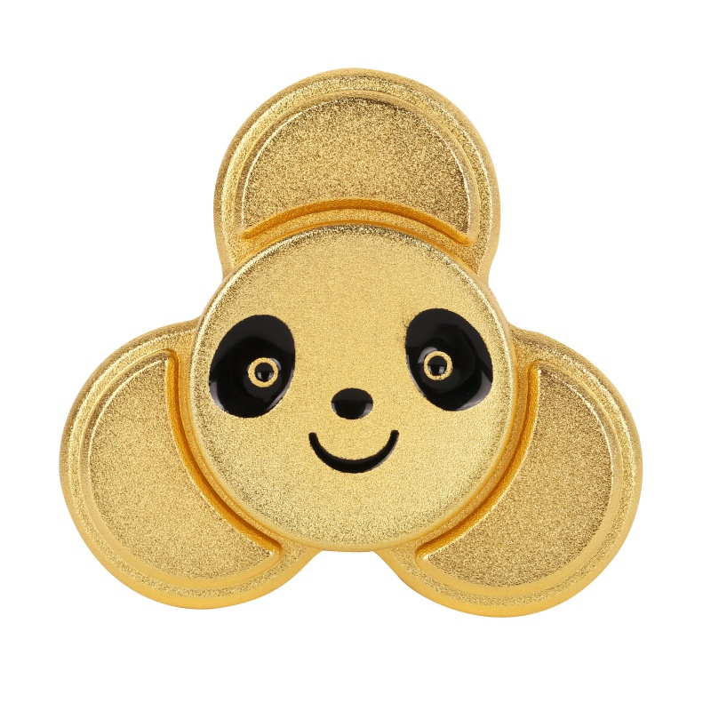 4 Colours Finger Spinner Panda Rotating Fidget Hand Spinner ADHD Autism Fingertips Fingers Gyro Reduce Stress Gift Toys