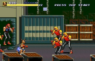 Streets Of Rage 3 - Sega Mega Drive For Genesis 2