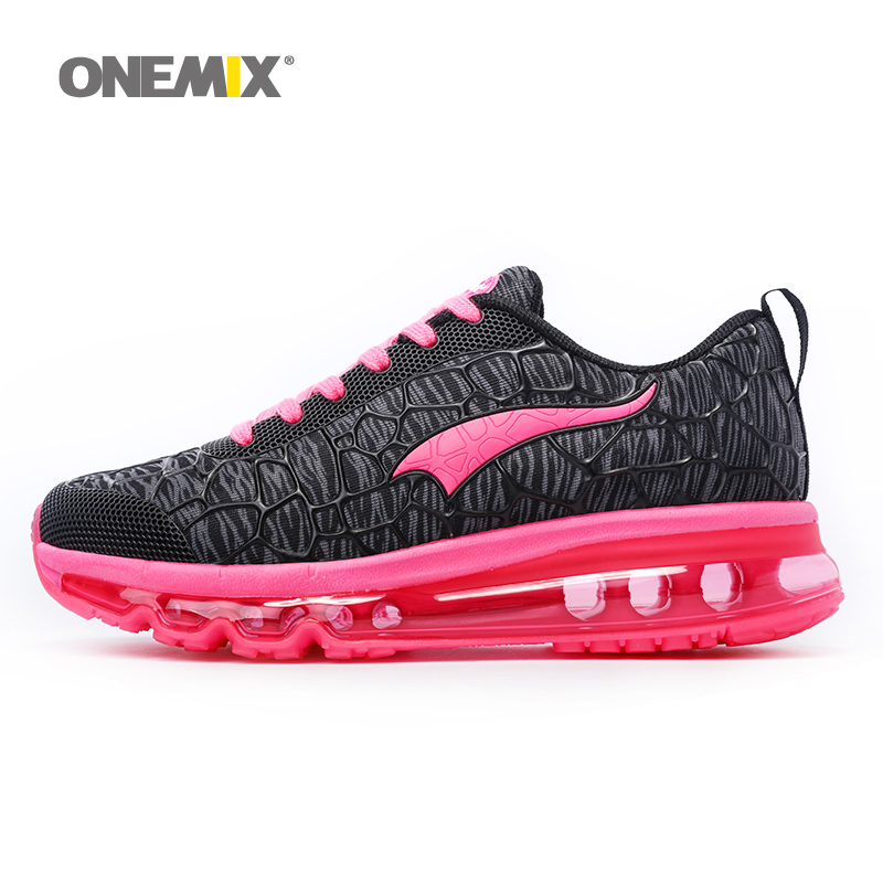 Onemix Newest Womens Sport Sneakers Damping Outdoor Running Shoes Breathable Summer Womens Shoes Free shipping Size EU36-40 summer style somix ultralight damping running shoes for men free run sneakers 2017 slip on breathable blade soles sport shoes