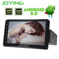 JOYING Single Din 7 PX5 4GB Ram Head Unit Universal Android 8 0 Car Radio Stereo