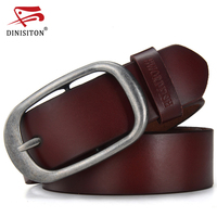 DINISITON Luxury Belts For Men Genuine Leather Strap Male Fashion Brand Man Wide Tactical Belt High