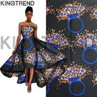 African Prints Wax Fabric Super Wax Hollandais Prints Fabric 6Yards 2017 Cotton African Dutch Wax Hollandais