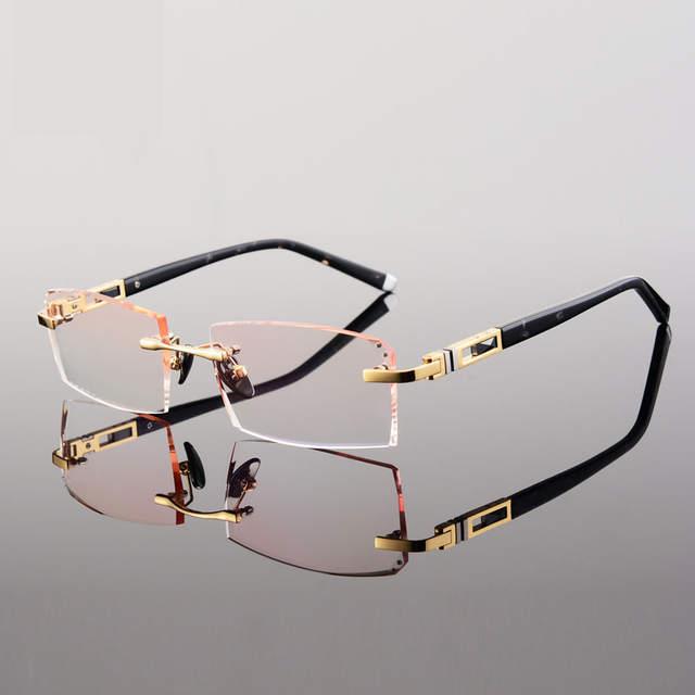 a0db2f6446396 placeholder Quadros de óculos sem armação armações de óculos armações de  óculos sem aro para os homens