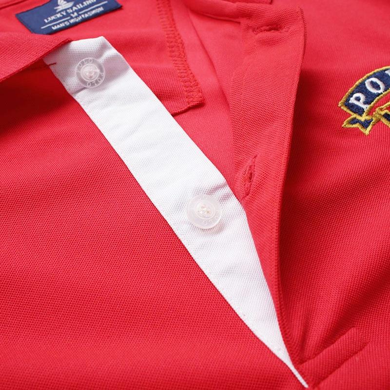 FANNAI Polo Shirt Men Custom Sport Mens Solid Shirts Golf Training Exercise Polo Sports Short Sleeve Tops Tees Runing T Shirt