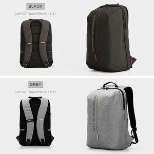 Image 4 - Kingsons laptopa plecak 15.6 Cal wysokiej jakości wodoodporne nylonowe torby biznes Dayback mężczyzn i kobiet